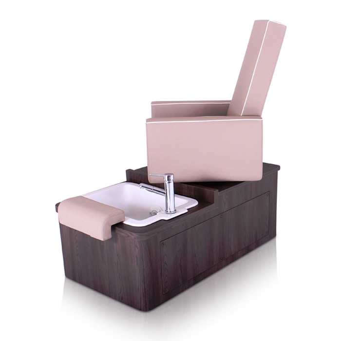 pedicure chair with whirlpool basin rotating chair