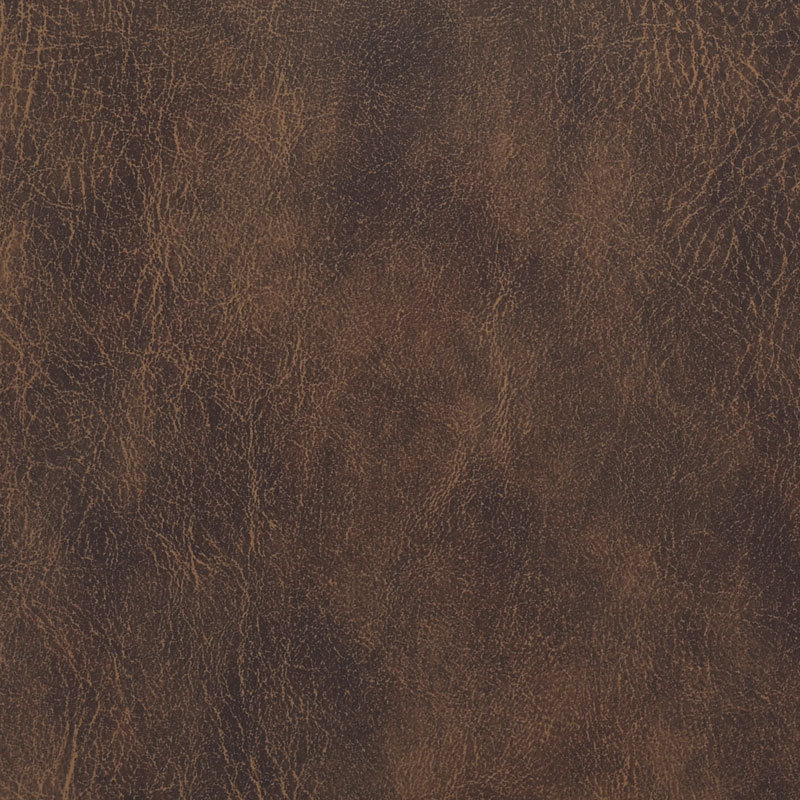 brown Buffalo style faux leather fabric