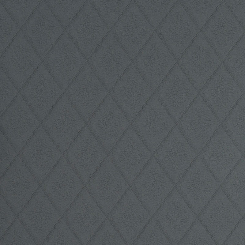 grey tailored slate faux leather fabric sample